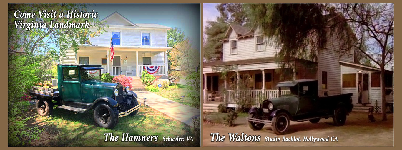 The Walton Hamner House, Schuyler VA