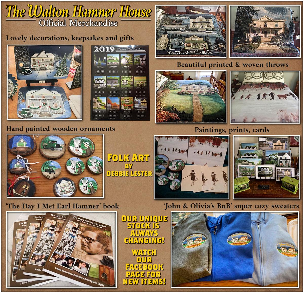 Walton Hamner House John & Olivia's BnB Gift shop