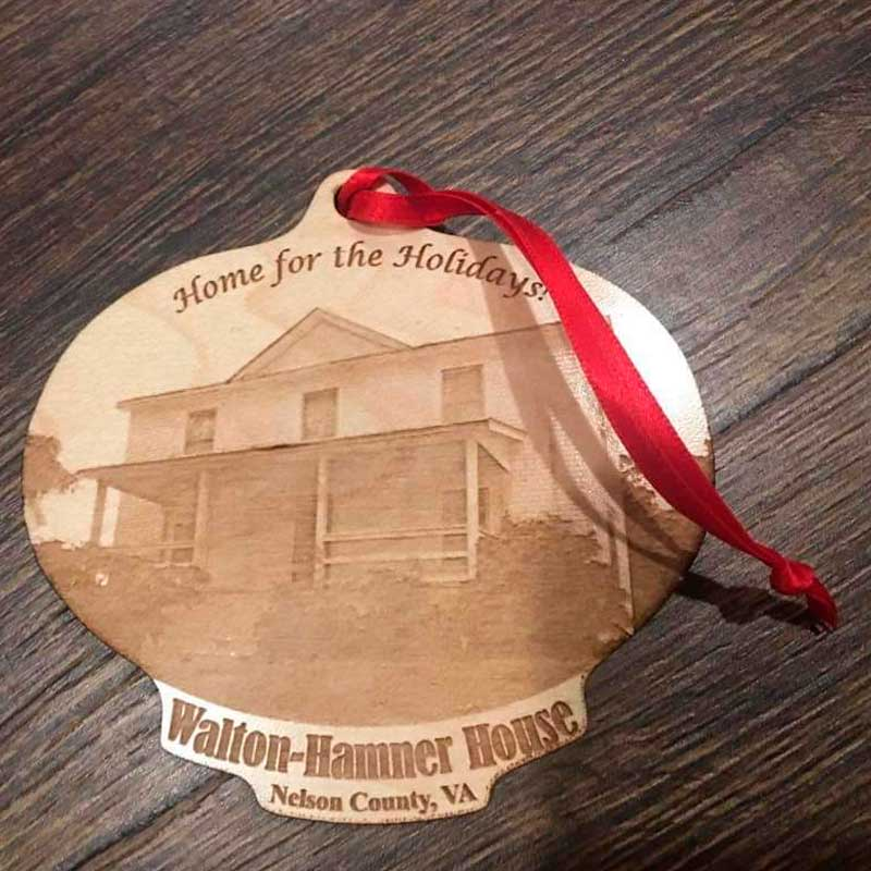 Wooden Ornament - Hamner House